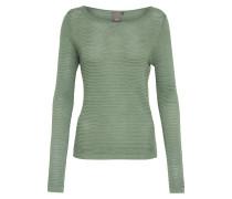 Pullover 'rillo' pastellgrün