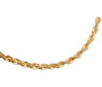 Kette in Kordelkettengliederung gold