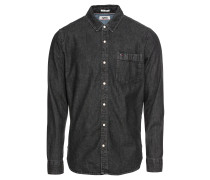 Hemd 'classic Denim Shirt' grey denim