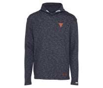 Schalkragen-Sweater 'msw Stage' navy