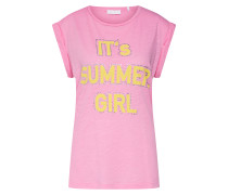 Shirt gelb / rosa