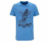 T-Shirt himmelblau