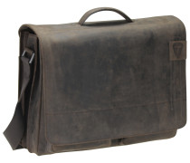 'Richmond Messenger' BriefBag XL Leder 41 cm Laptopfach