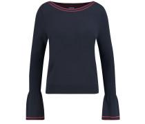 Pullover nachtblau / rot