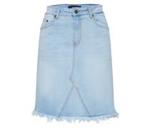 Rock 'objpatty HW Denim Skirt' blue denim
