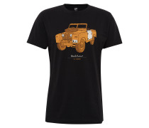 T-Shirt 'The Landie' schwarz