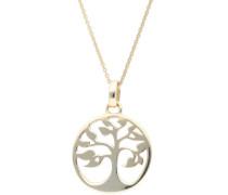 Kette 'Lebensbaum' gold