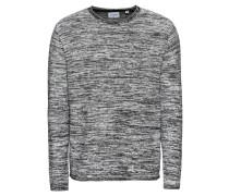 Pullover grau / schwarz / weiß