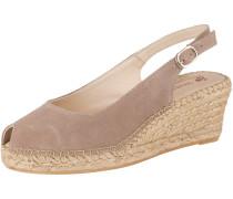 Sandaletten 'Ana 4' schlammfarben
