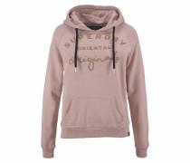 Sweatshirt 'astible Graphic Hood' rosé