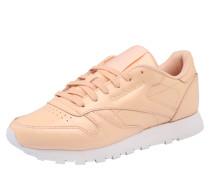 Sneaker 'patent' pfirsich
