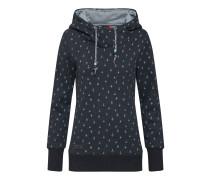 Sweatshirt 'gripy Print' kobaltblau