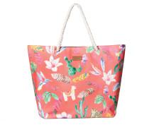 Shopper 'Free Spirit' mischfarben / lachs