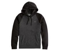 Sweatshirt anthrazit / schwarz