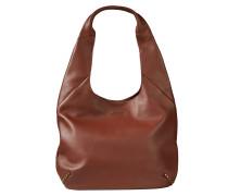 Hobo-Bag 'Nila' rostbraun