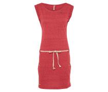 Kleid 'tag' himbeer