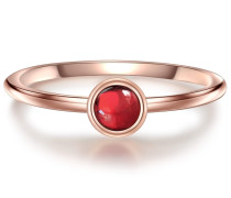 Ring rosegold / rot