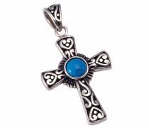 Kettenanhänger »Kreuz« silber