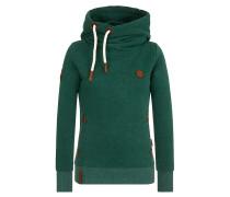Sweatshirt 'Trödeln & Turteln' grün