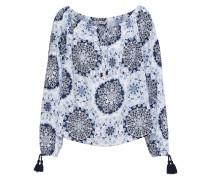 Shirt 'summer' nachtblau / weiß