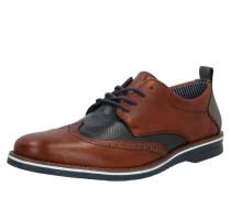 Schuhe dunkelbraun / navy