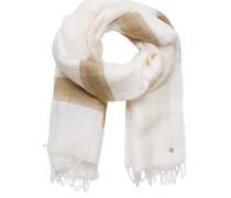 Schal beige / weiß