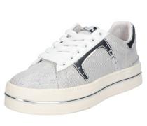 Sneaker 'plaise' silber / weiß