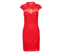 Cocktailkleid 'WX RED Lace' rot