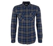 Flanellhemd blau / schwarz / weiß