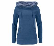 Fleeceshirt blau