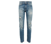 Jeans 'slim CKJ 025' blue denim