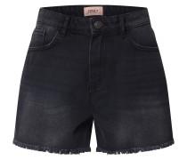 Jeansshorts 'kelly' black denim / schwarz