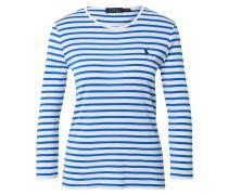 Shirt weiß / blau