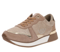 Sneakers 'stud City' gold / taupe