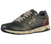 Sneaker navy / blutrot