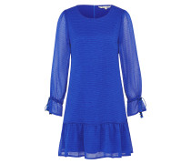 Kleid 'dobby Dress' blau