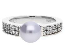 Fingerring 925 Silber Lila Precious Sunset Esrg91587C