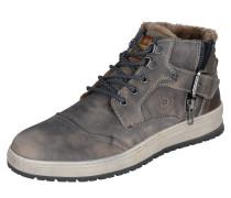 Sneaker mit Schnalle grau