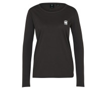 Sweatshirt Basic schwarz