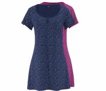 Nachthemden (2 Stück) blau / dunkelpink