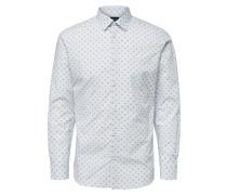 Hemd mischfarben / weiß