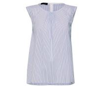 Bluse 'cipino' hellblau / weiß