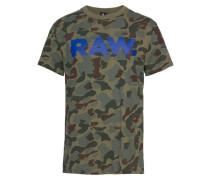 T-Shirt khaki / mischfarben