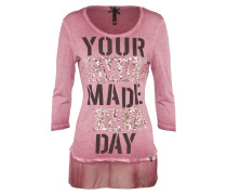 Shirt 'wls DAY round' rosa