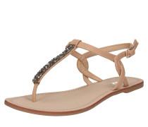 Sandalette 'margit' nude / platin