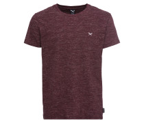 T-Shirt 'Chamisso Tee' weinrot