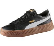 Sneaker 'smash Platform L' braun / schwarz