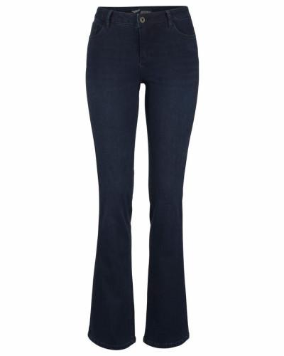 Jeans mit Thermo Effekt dunkelblau