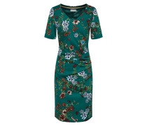 Kleid 'Josefina India' dunkelgrün
