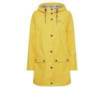 Regenmantel gelb